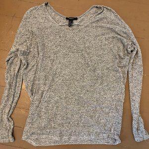 thin cute grey sweater!